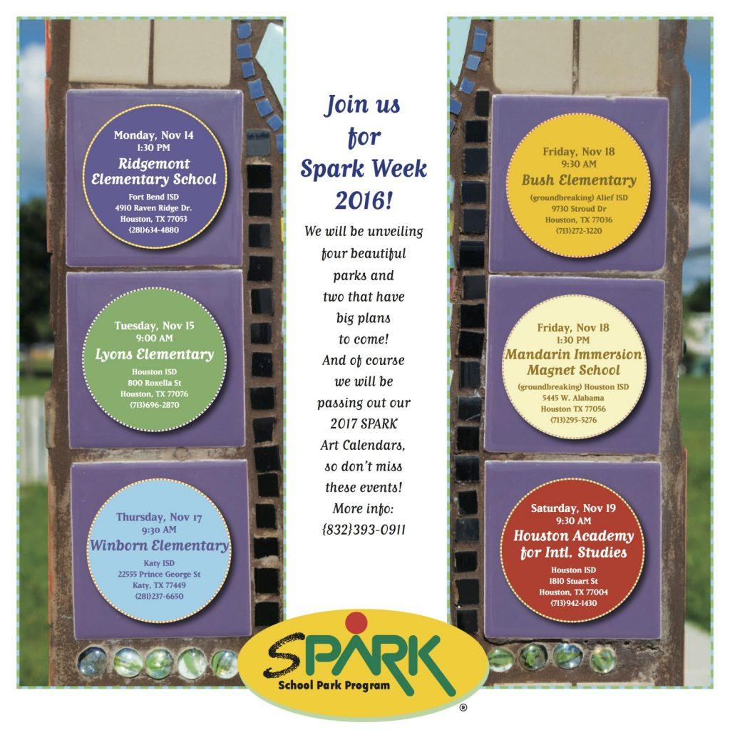 SPARK Week 2016